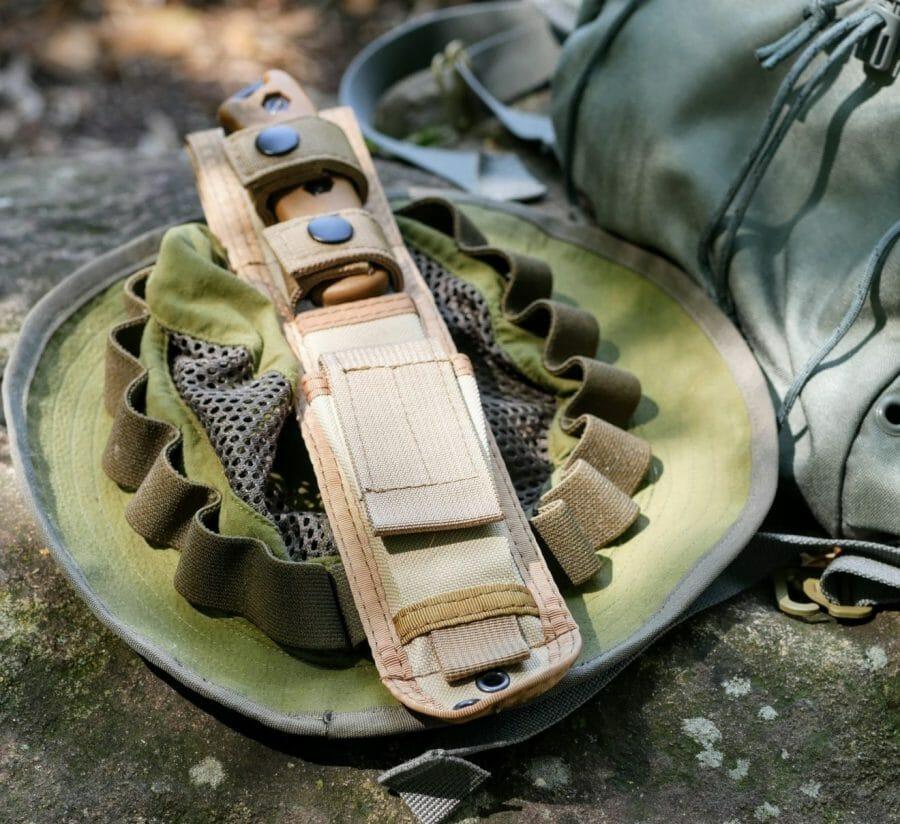 Becker BK-16 scarbard