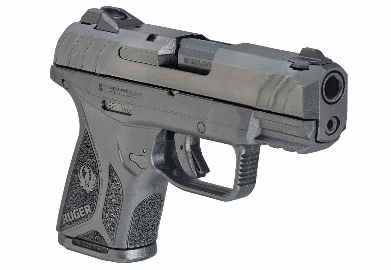 Ruger Security-9 Compact angle