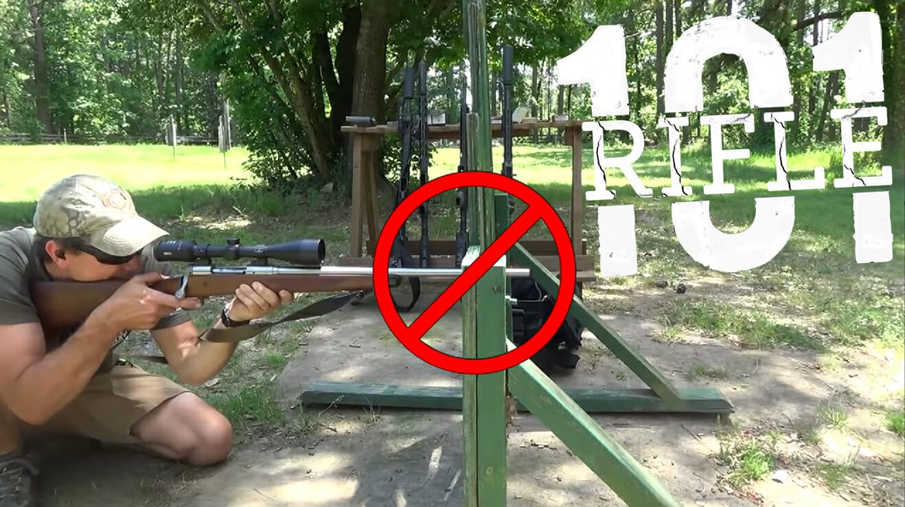 Rifle 101 resting barrel