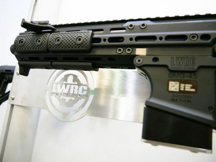 LWRCI SMG 45 Magwell