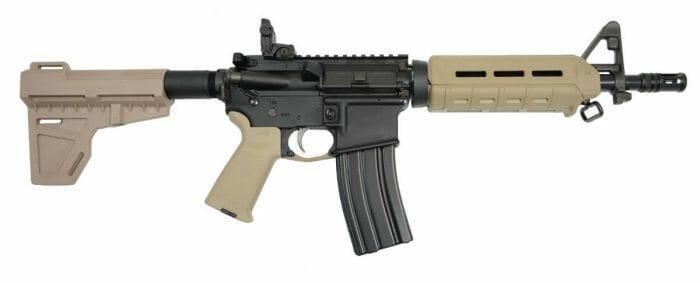 """PSA PA-15 10.5"""" 5.56 Shockwave AR-15 Pistol"""