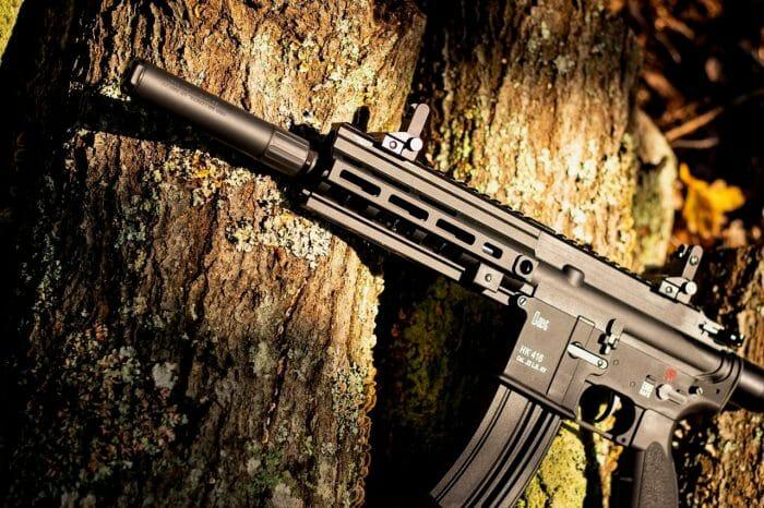 OSS RAD 22 on an HK 416 22LR