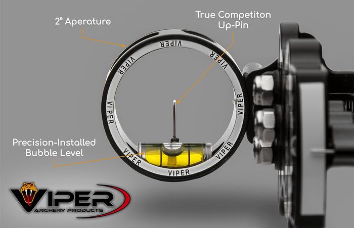 Viper Archery Sidewinder aluminum sight housing