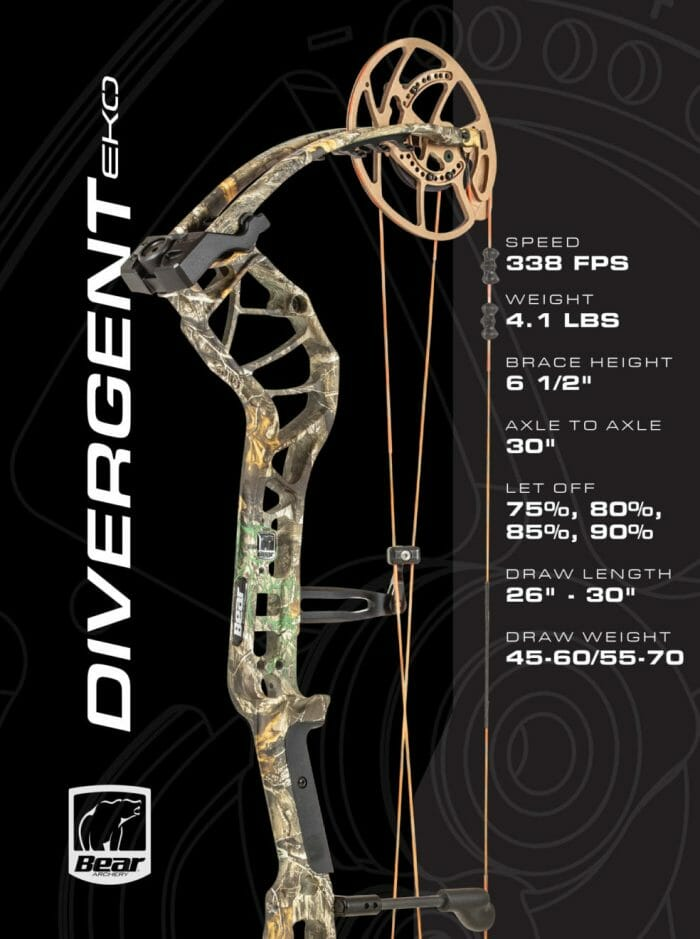 Bear Archery Divergent EKO bow