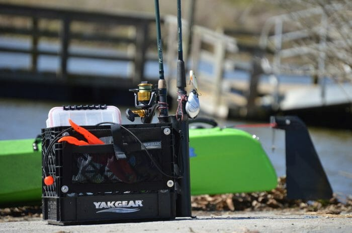 YakGear Angler Crate helps keep everything in one place
