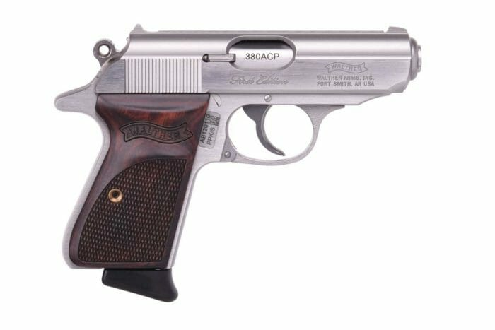 """Walther """"First Edition"""" PPK/S side"""