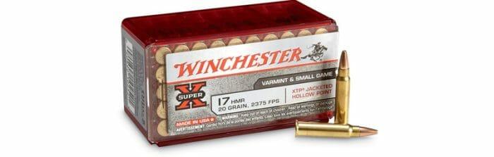 Winchester 17 HMR Recall Container