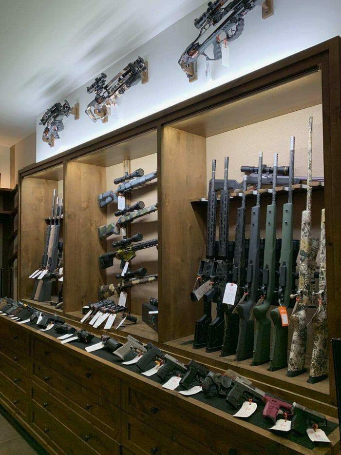 Champion Arms Rifles on display