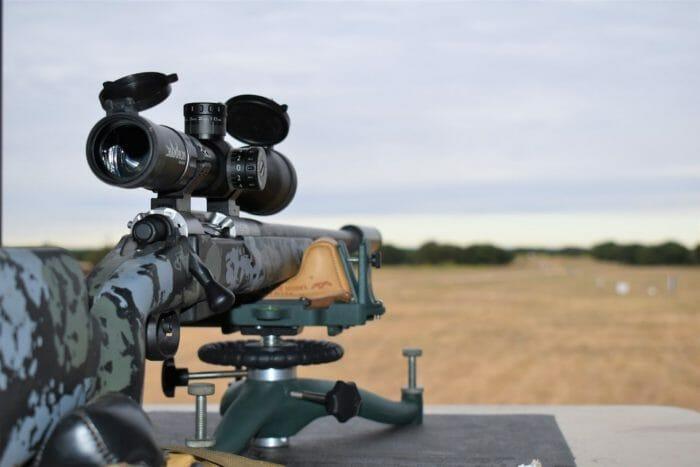 Champion Arms Gen2 Nosler 28 rifle at the 1000 yard range