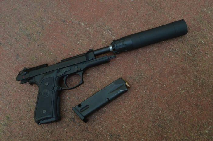 Beretta M9 Magazine Short Obsidian 45