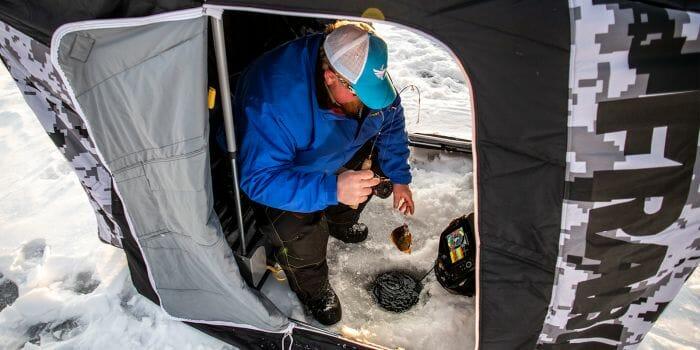 Frabill Bro Sidestep ice shelter