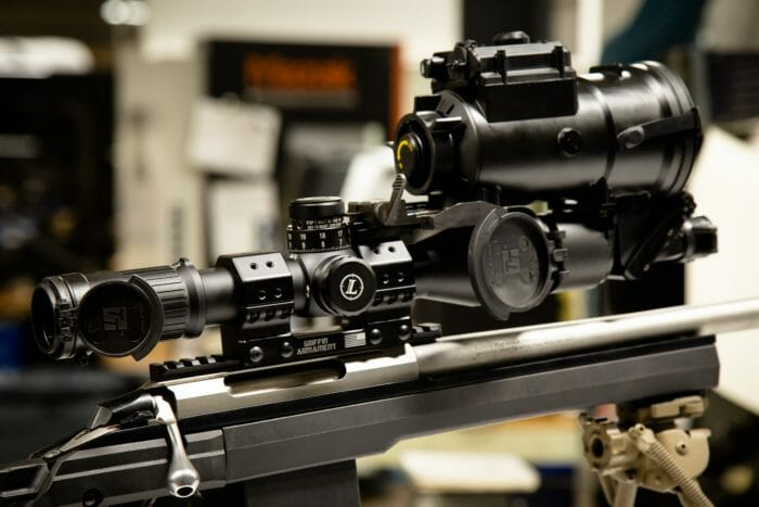 Griffin Armament SPRM Scope Mount with Simrad Night Vision