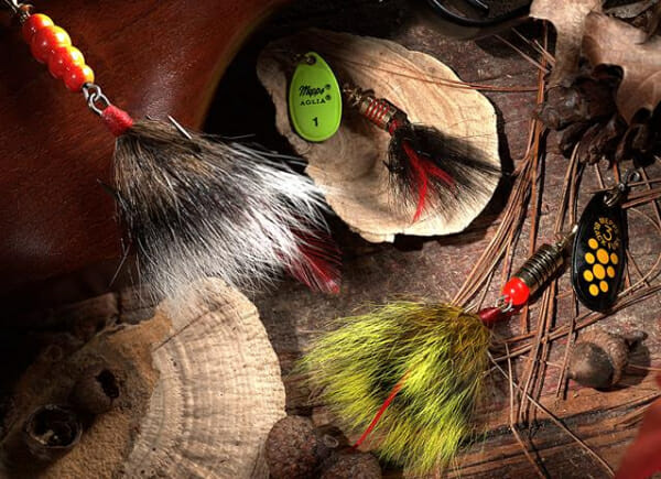 Mepps squirrel tail lures
