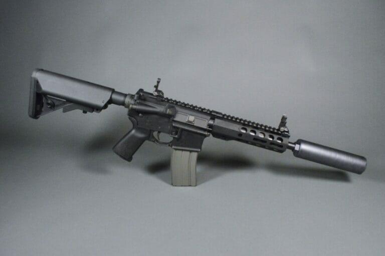 Q Half Nelson AR-15 SBR Side
