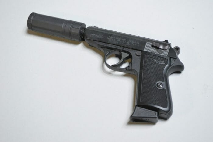 Short AAC Halcyon Walther PPK/S 22 LR