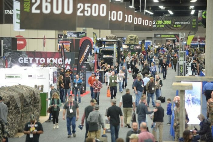 Archery Trade Show Attendees
