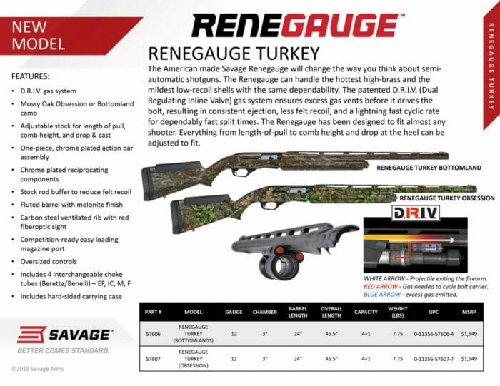 RENEGAGUE Turkey shotgun