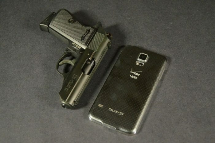 Walther PPKS Rimfire Cell Phone