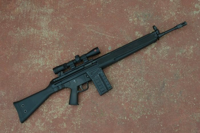 PTR-91 Right Side Up