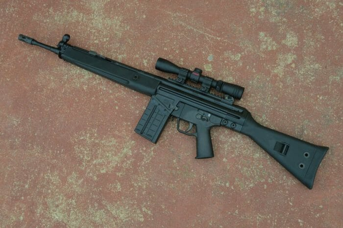 PTR-91 A3R Left Up