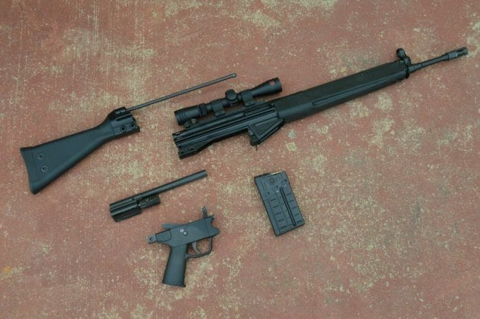 PTR-91 A3R Disassembly Parts