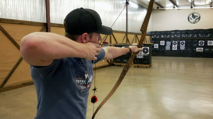 Traditional archers routinely shoot bows with lower draw weights