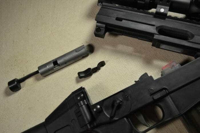 SIG 522 .22 LR Rimfire Bolt Disassembly
