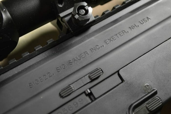 SIG Sauer 522 Roll Marks