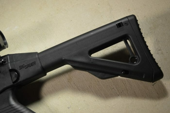 SIG 522 Collapsible Folding Stock Rimfire
