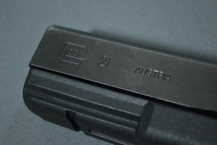 Glock 21SF Roll Marks