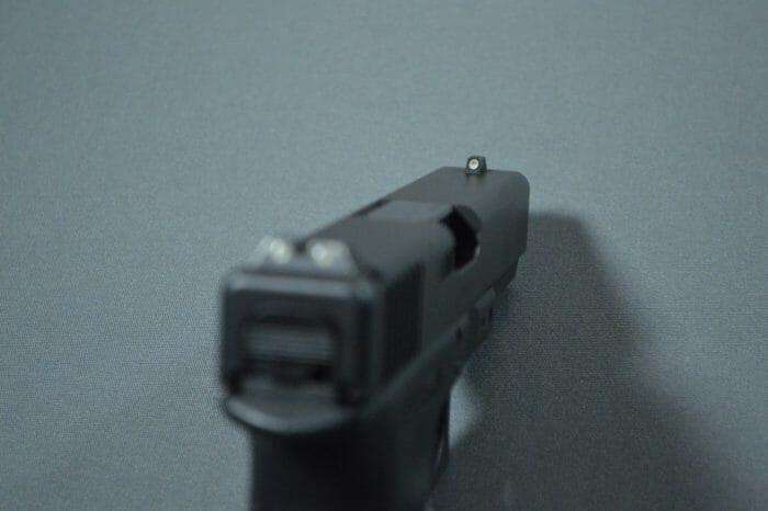 Glock 21SF Police Night Sights Tritium