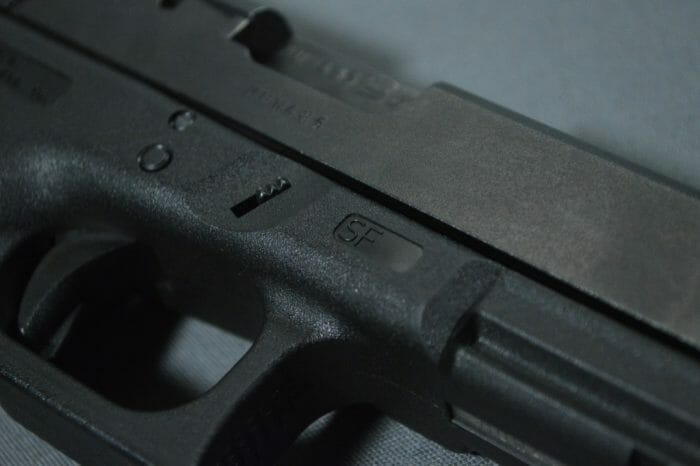 Glock 21SF Disassembly Lever