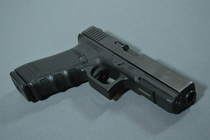 Glock 21SF Front Right Low