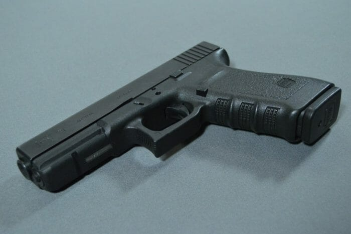 Glock 21SF Grooves Accessory Rail