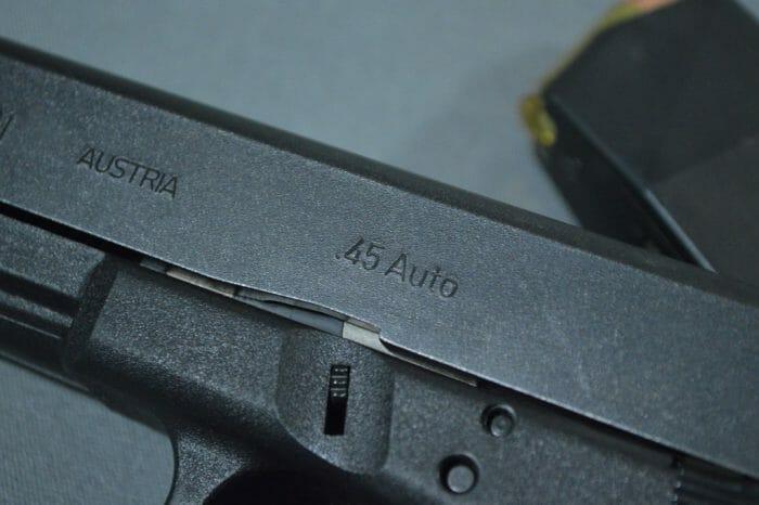 Glock 21SF Tennifer Finish Slide
