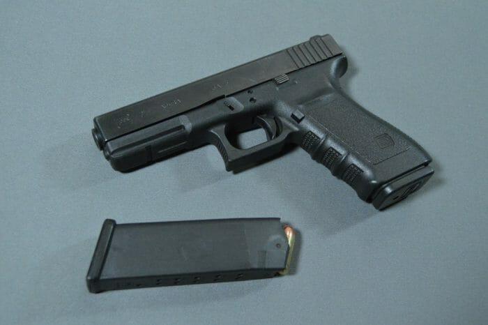 Glock 21SF Magazine Loaded