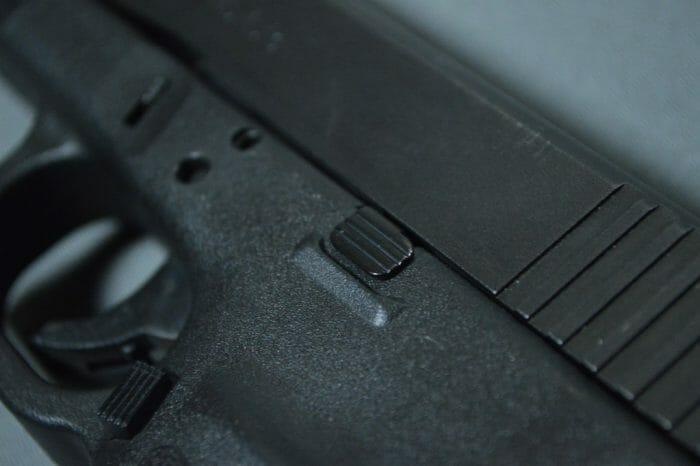 Glock 21SF Slide Release