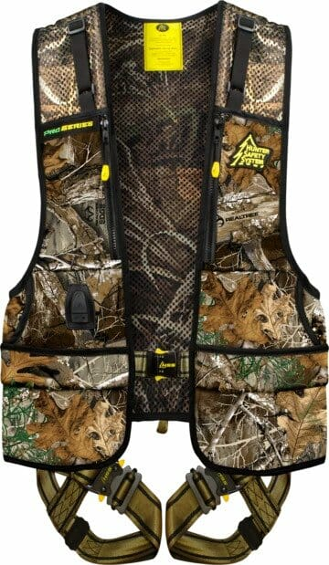 The Hunter Safety System ProSeries Harness is a comfortable option