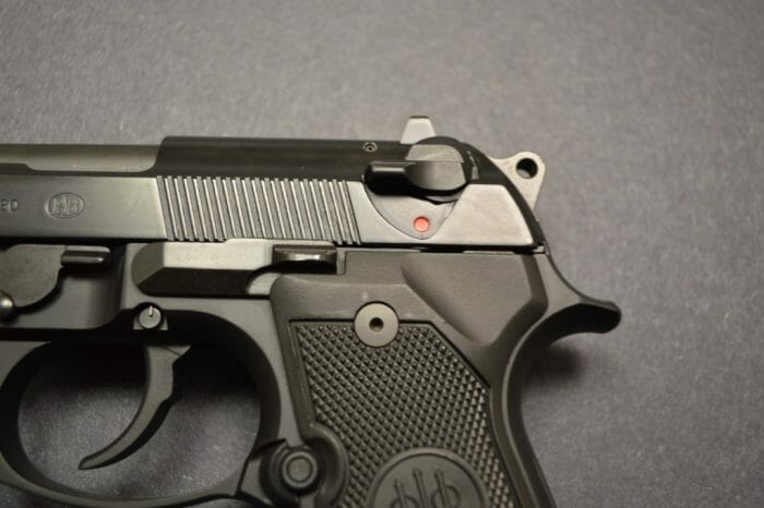 Beretta M9 Safety Fire