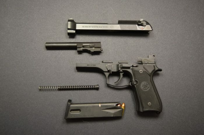Beretta M9 Disassembly