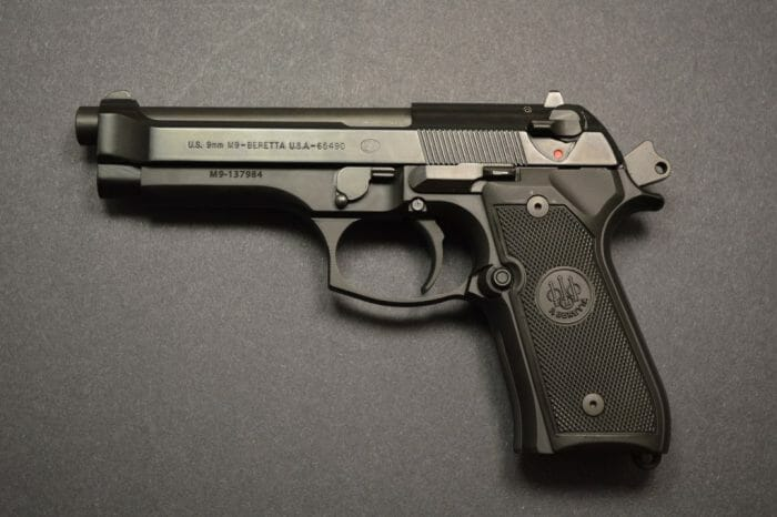 Beretta M9 Single Action