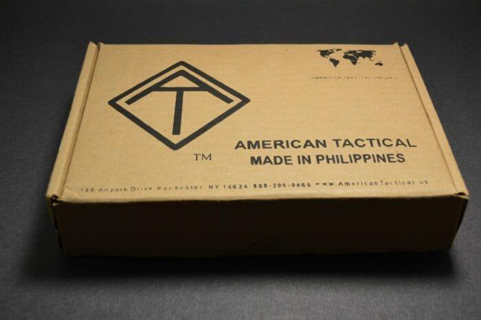 ATI FX 1911 Military Box