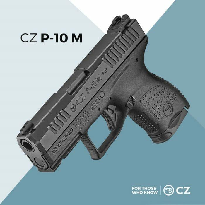 CZ P-10M Micro 9mm Single Stack