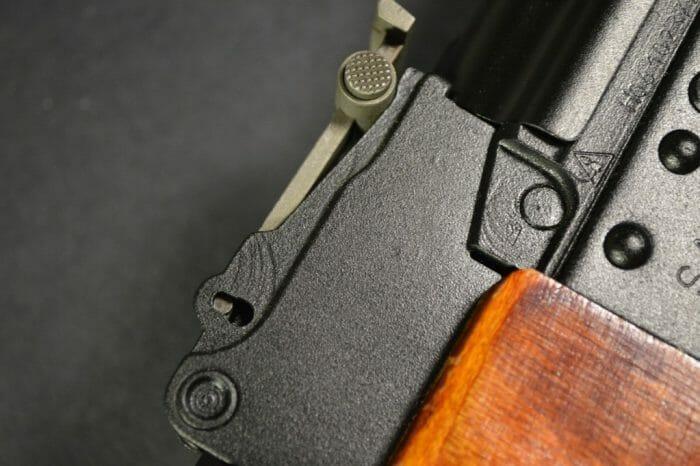 Izhmash rear sight block