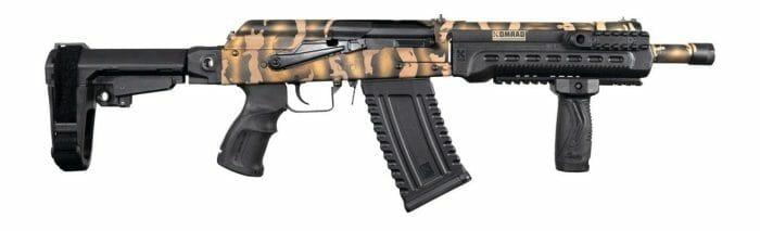 Kalashnikov USA Komrad LIMITED Special Edition Russian Tiger Camo 12GA Shotgun