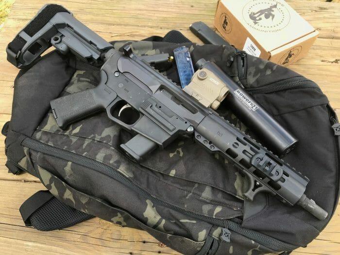 Palmetto State Armory PA-9 9mm AR pistol