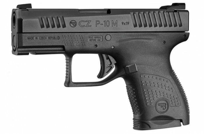 CZ P-10M Micro 9mm Single Stack