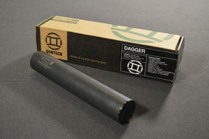 Gemtech Dagger silencer