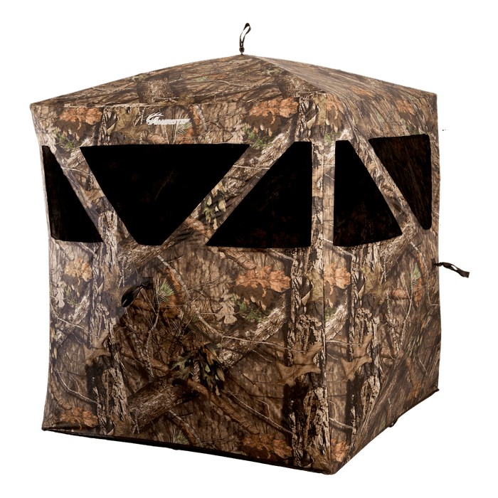 The Ameristep Care Taker Run & Gun Blind is sized for portability.