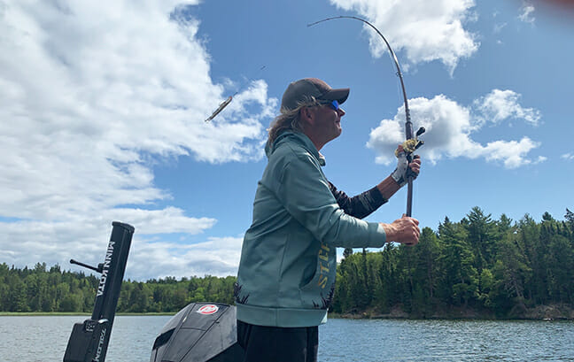 Wisconsin Guide and Big-Fish Expert, Rob Manthei